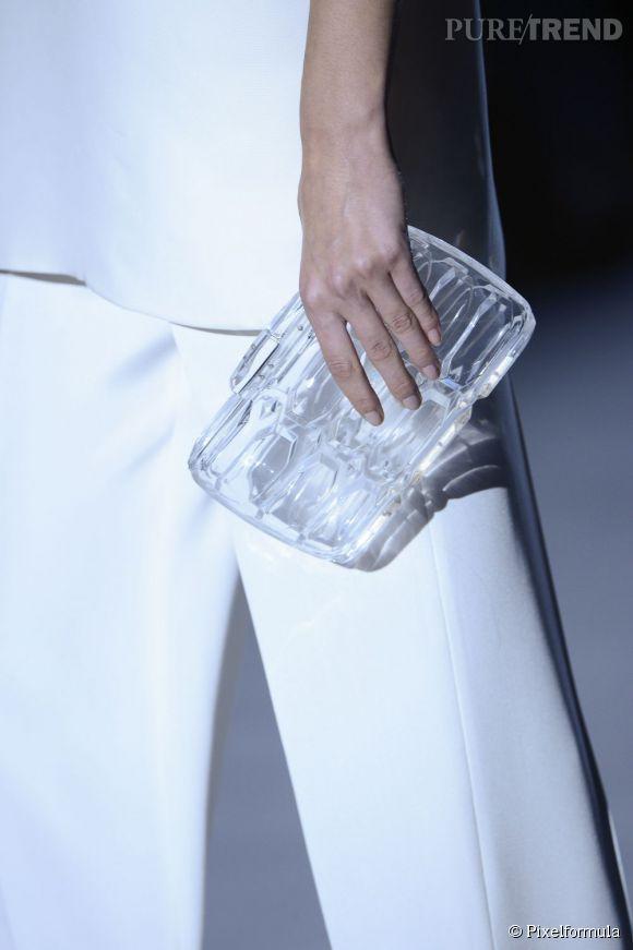 Des stars, aux podiums, à la rue : adoptez la tendance it-bag transparent    Gucci, défilé Printemps-Eté 2013