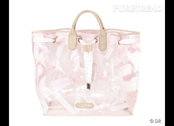 Des stars, aux podiums, à la rue : adoptez la tendance it-bag transparent    Cabas Repetto, 420 €