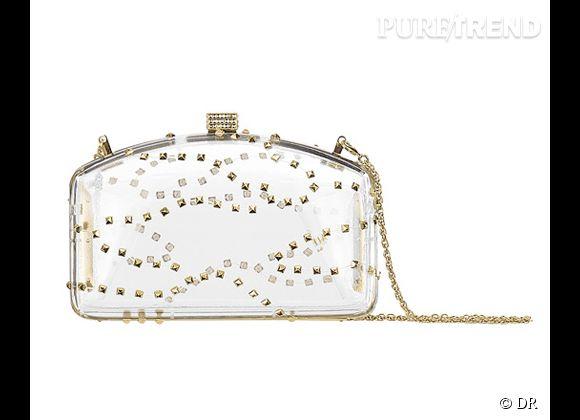 Des stars, aux podiums, à la rue : adoptez la tendance it-bag transparent    Minaudière Valentino, prix sur demande