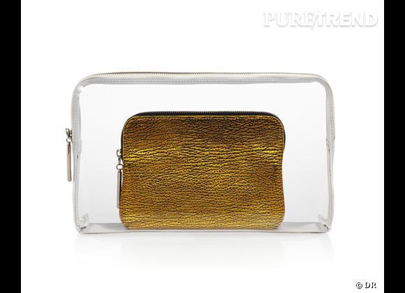 Des stars, aux podiums, à la rue : adoptez la tendance it-bag transparent    Pochette 3.1 Phillip Lim, 270 € sur Theoutnet.com