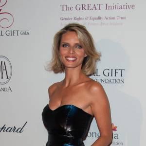 Sylvie Tellier au Global Gift Gala.
