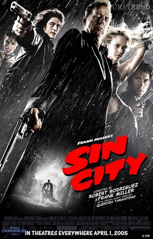 """""""Sin City"""" se place à la troisième place et... surprise : Quentin Tarantino fait partie des réalisateurs."""