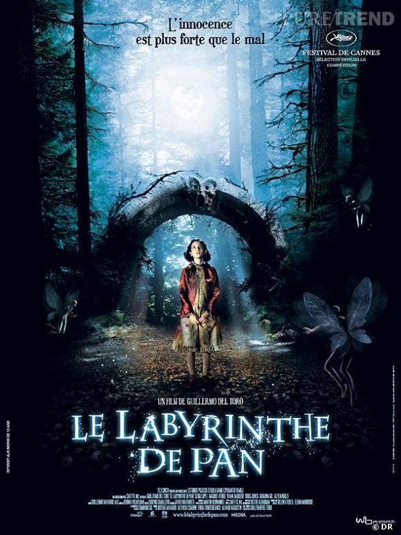 """Guillermo del Toro s'offre la 7ème place grâce au """"Labyrinthe de Pan""""."""