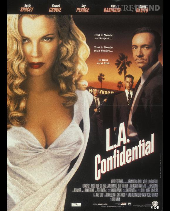 """C'est """"L.A Confidential"""" qui ferme le top 10 des films nominés à Cannes et préférés des internautes."""