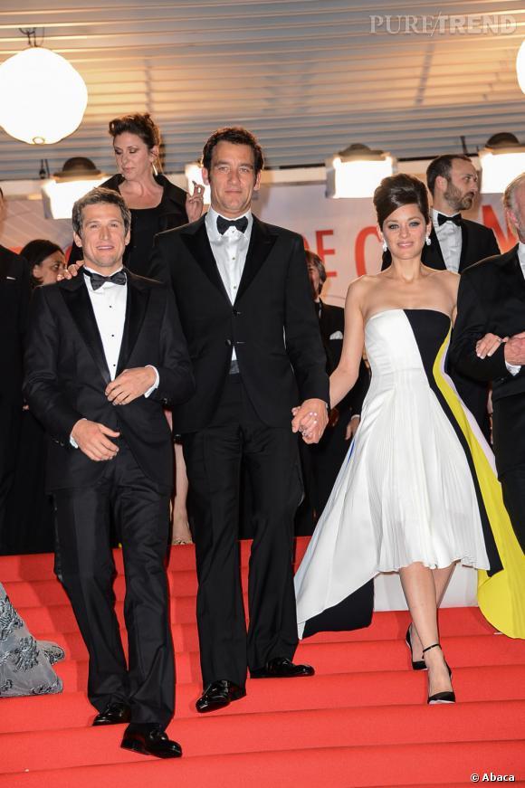 Marion Cotillard s'offre une première apparition tapis rouge réussie pour Cannes 2013.