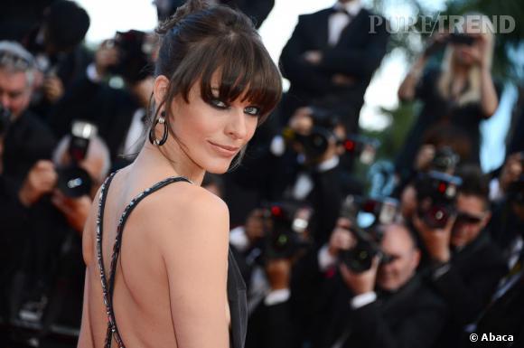 Milla Jovovich : on copie son make-up sensuel à Cannes.