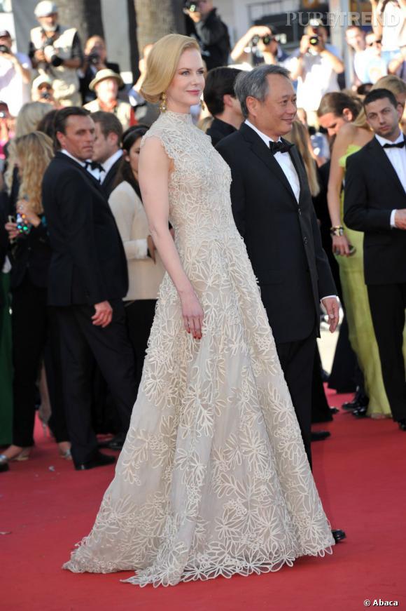 Nicole Kidman a choisi une robe Valentino Haute Couture pour la première de  Nebraska .
