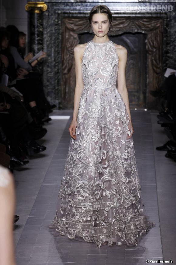 La robe Valentino Haute Couture qu'Anne Hathaway aurait dû porter aux Oscars.