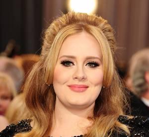 Adele : gaine et robe noire, sa styliste revele ses secrets mode sur tapis rouge