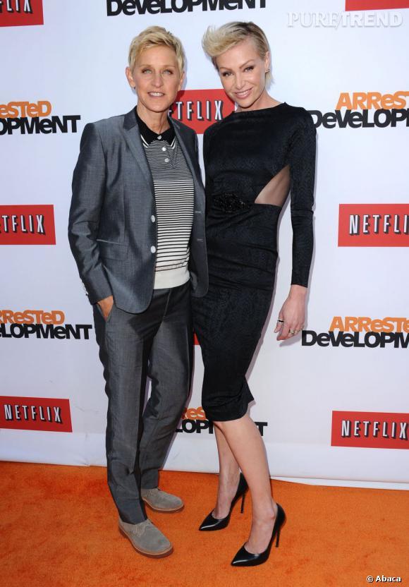 Ellen DeGeneres et Portia de Rossi se sont mariées en août 2008.
