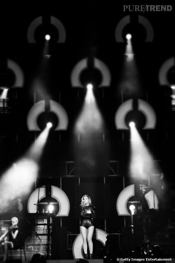 "Beyonce au concert exceptionnel ""The Sound of Change Live""."
