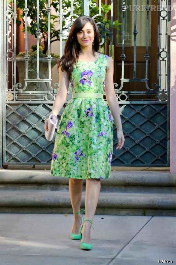 Emmy Rossum, une adorable jeune fille en fleur à Los Angeles.