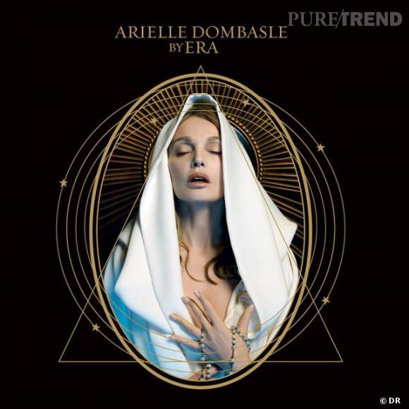 """Arielle Dombasle est accusée de profanation dans une église lors du tournage du clip de sa chanson revisitée de l'""""Ave Maria""""."""