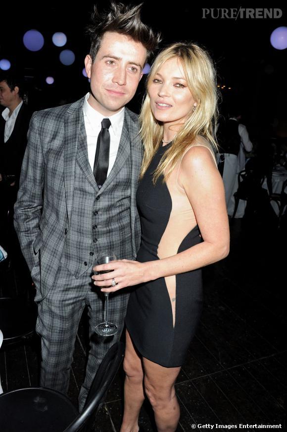 Nick Grimshaw se paie la tête de Kate Moss à la radio.