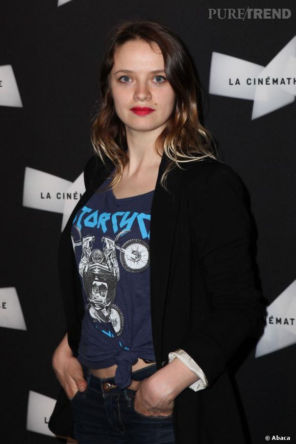 """Sara Forestier à la Cinémathèque pour présenter son film """"Suzanne""""."""