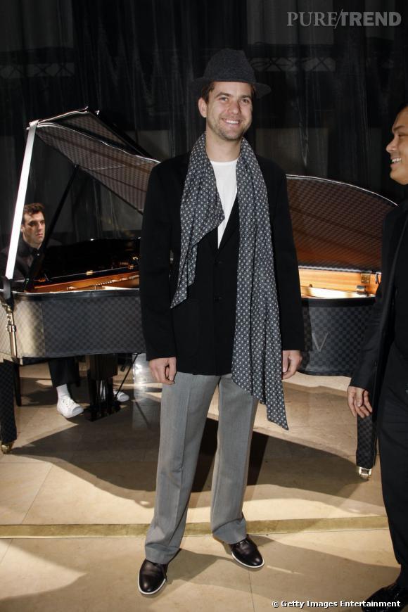 Joshua Jackson, un vrai dandy mode.