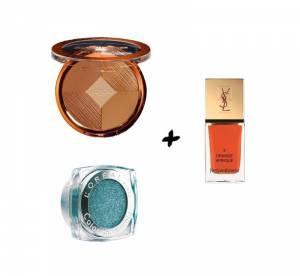 Shopping : maquillage et vernis, les bonnes associations de l'été
