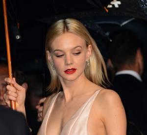 Carey Mulligan a ébloui à Cannes, alors présente pour ses rôles dans Gatsby Le Magnifique et Inside Llewyn Davis.