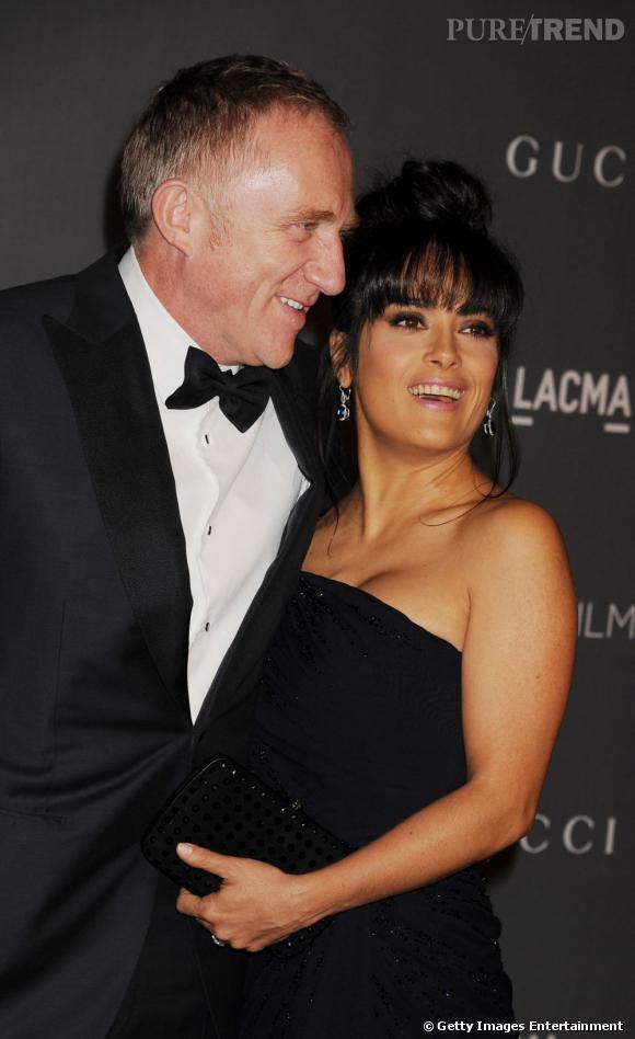 Salma Hayek est mariée au milliardaire français François-Henri Pinault.