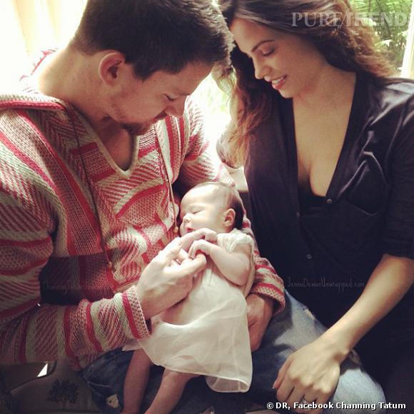 Channing Tatum a révélé une photo de sa fille sur facebook pour la fête des pères.