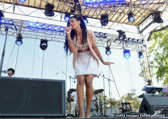 Solange Knowles sur scène dans le Tennessee.