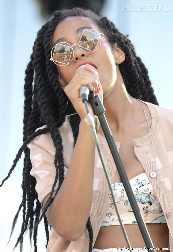 Solange Knowles fait actuellement la promo de son nouvel album True.