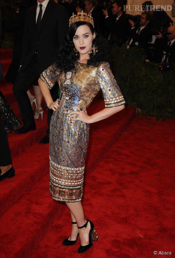 Katy Perry au MET Ball 2013.