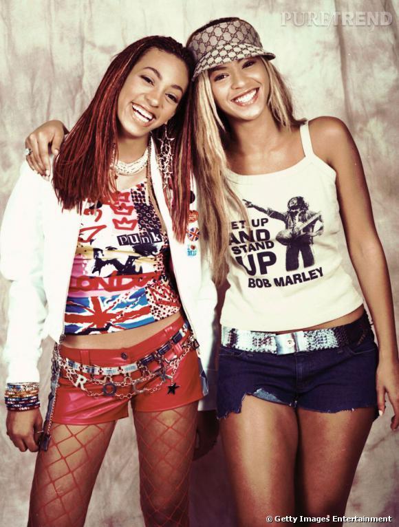 En 2003 :  Solange Knowles s'essaye au style punk cagole, on hurle au sacrilège.