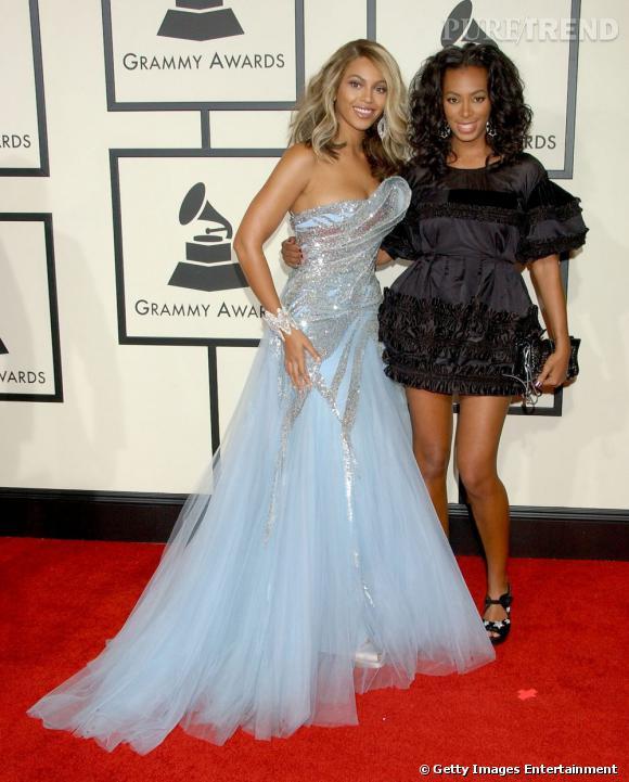 En 2008 :  Solange Knowles est loin de faire de l'ombre à sa soeur, mais le style est là.