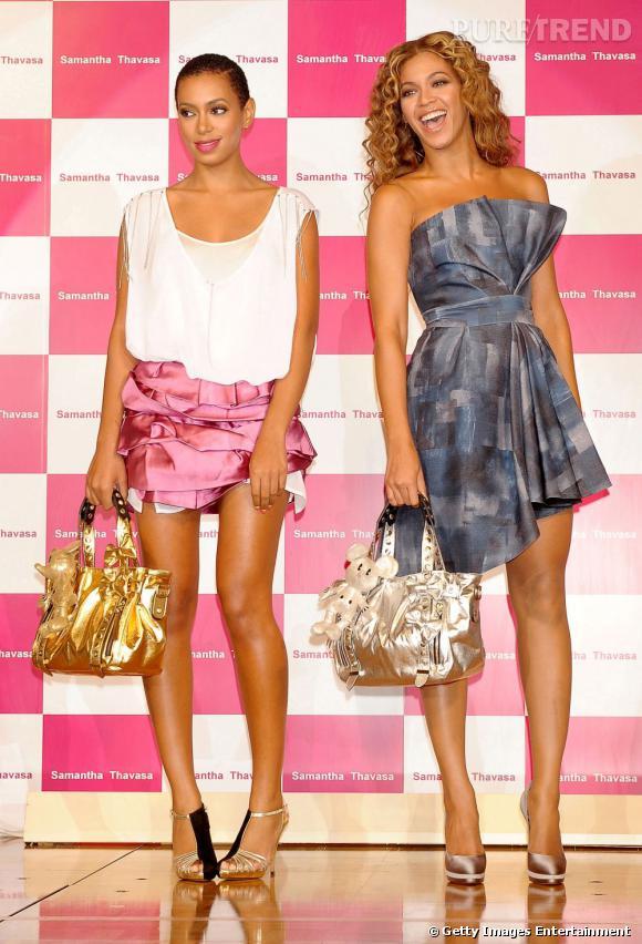 En 2009 :  Solange Knowles dompte son look, question coiffure nous ne sommes pas complètement convaincus.