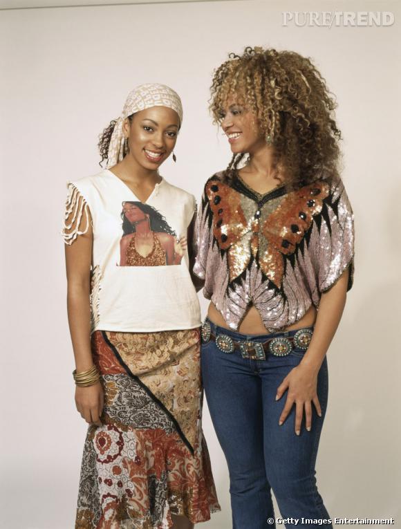 En 2002 :  Solange Knowles ou le grand n'importe quoi.
