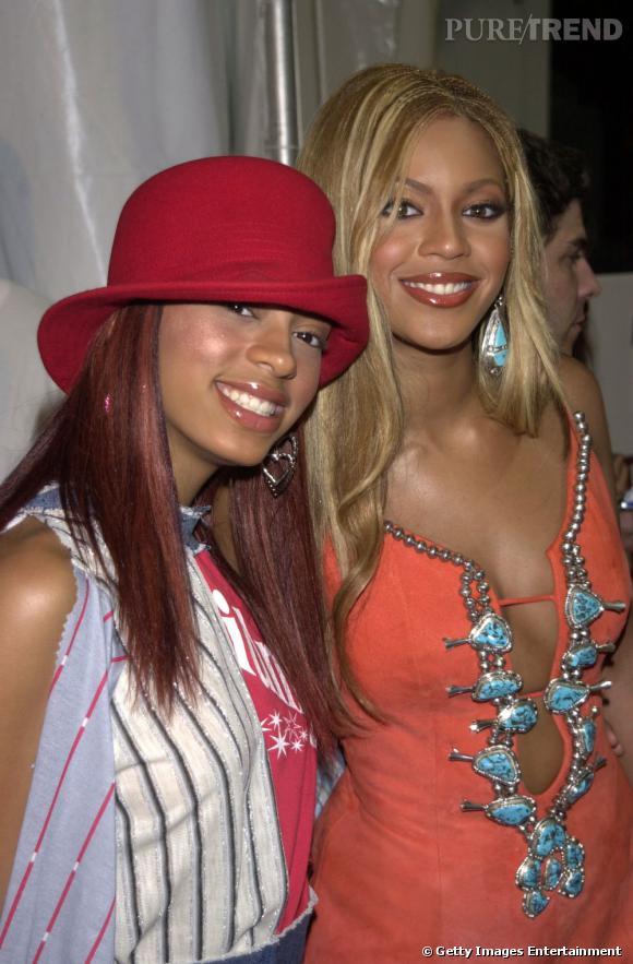En 2001 :  Solange Knowles continue les mixes dépourvus de style.