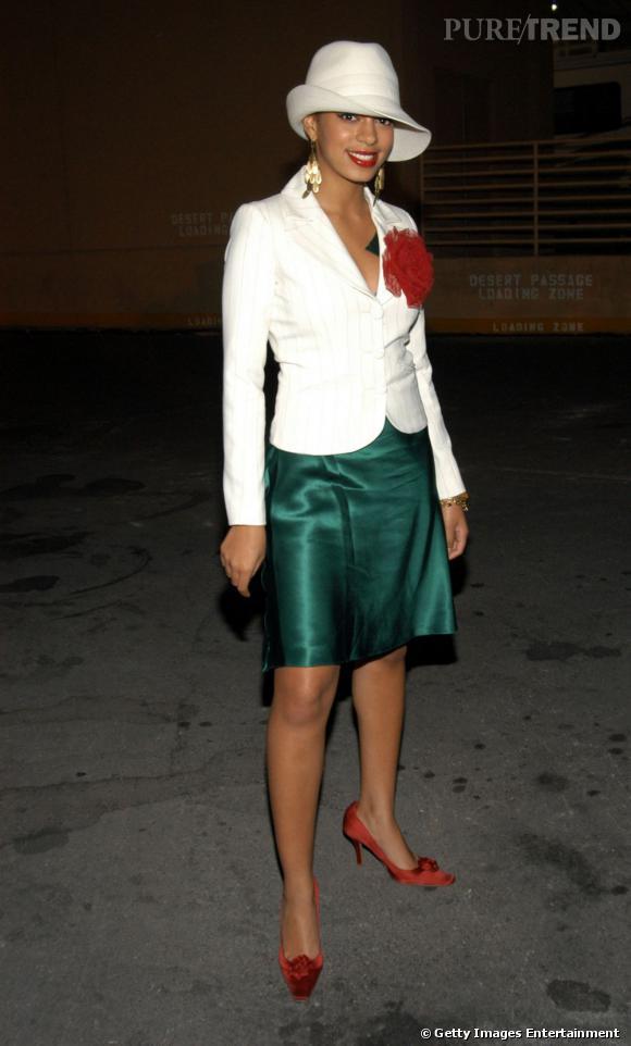 En 2003 :  Solange Knowles se prend pour Mary J. Blige à la grande époque. Impossible de cautionner.