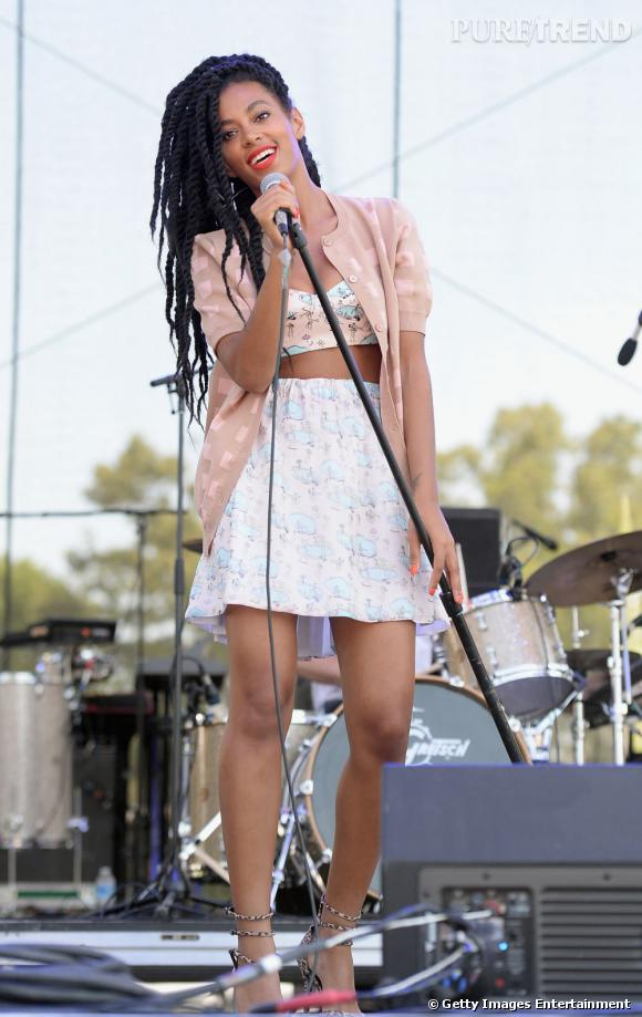 En 2013 :  Solange Knowles c'est une bête de scène mais surtout de mode.