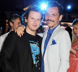 """Les créateurs Christopher Kane et Matthew Williamson lors de la soirée """"Serpentine Gallery Summer Party""""."""