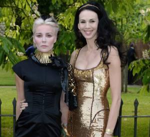 """Daphné Guinness et L'Wren Scott lors de la soirée """"Serpentine Gallery Summer Party""""."""