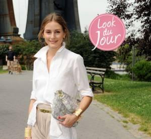 Olivia Palermo : gravure de mode sur le bitume new-yorkais