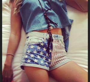 Ashley Tisdale a le parfait dress code pour le 4 juillet !