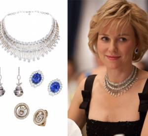 Naomi Watts et ses bijoux Chopard dans ''Diana'' : un film, une parure