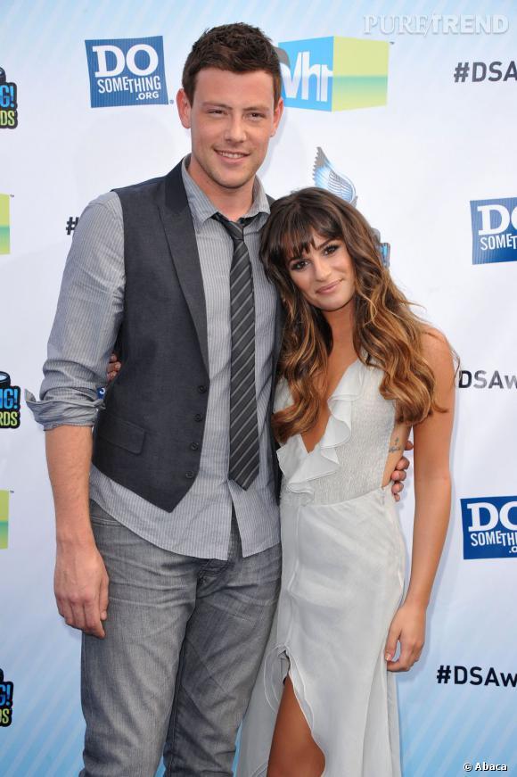 Lea Michele et Cory Monteith étaient ensemble dans la série Glee comme dans la réalité...