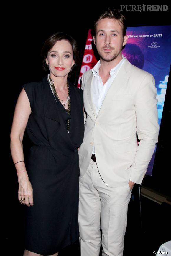 "Ryan Gosling et Kristin Scott Thomas pour ""Only God Forgives""."