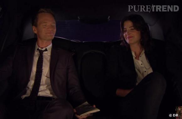 À la fin de la vidéo, on découvre aussi Neil Patrick Harris et Cobie Smulders dans une voiture...