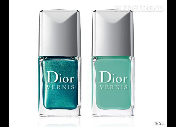 Vernis à ongles : nos 15 must have pour cet été Vernis duos d'été Samba, pour coordonner mains et pieds, collection Bird of Paradise, Dior, 27 €