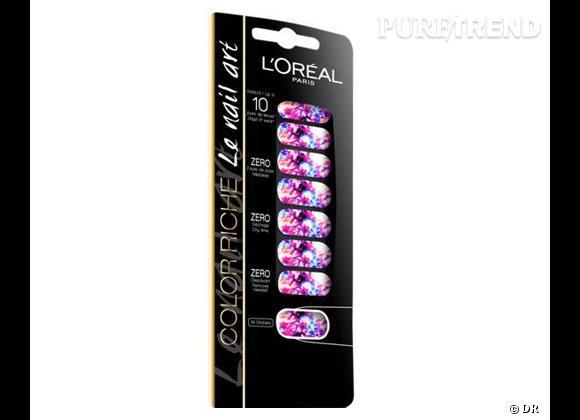 Vernis à ongles : nos 15 must have pour cet été    Color Riche Le Nail Art Miss Pop, Tie & Dye, L'Oréal Paris, 11,90 €