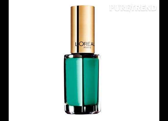 Vernis à ongles : nos 15 must have pour cet été    Vernis à ongles Color Riche, Vendome Emerald, L'Oréal Paris,  6,90 €