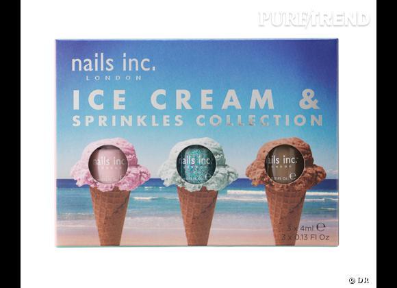 Vernis à ongles : nos 15 must have pour cet été    Kit vernisIce Cream & Sprinkles, Nails Inc. en exclu chez Sephora, 15 €