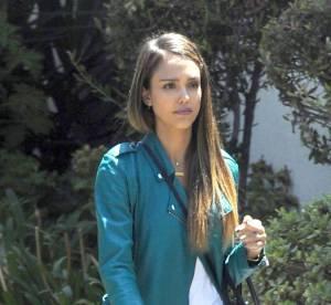 Jessica Alba, une maman toujours epatante... A shopper !