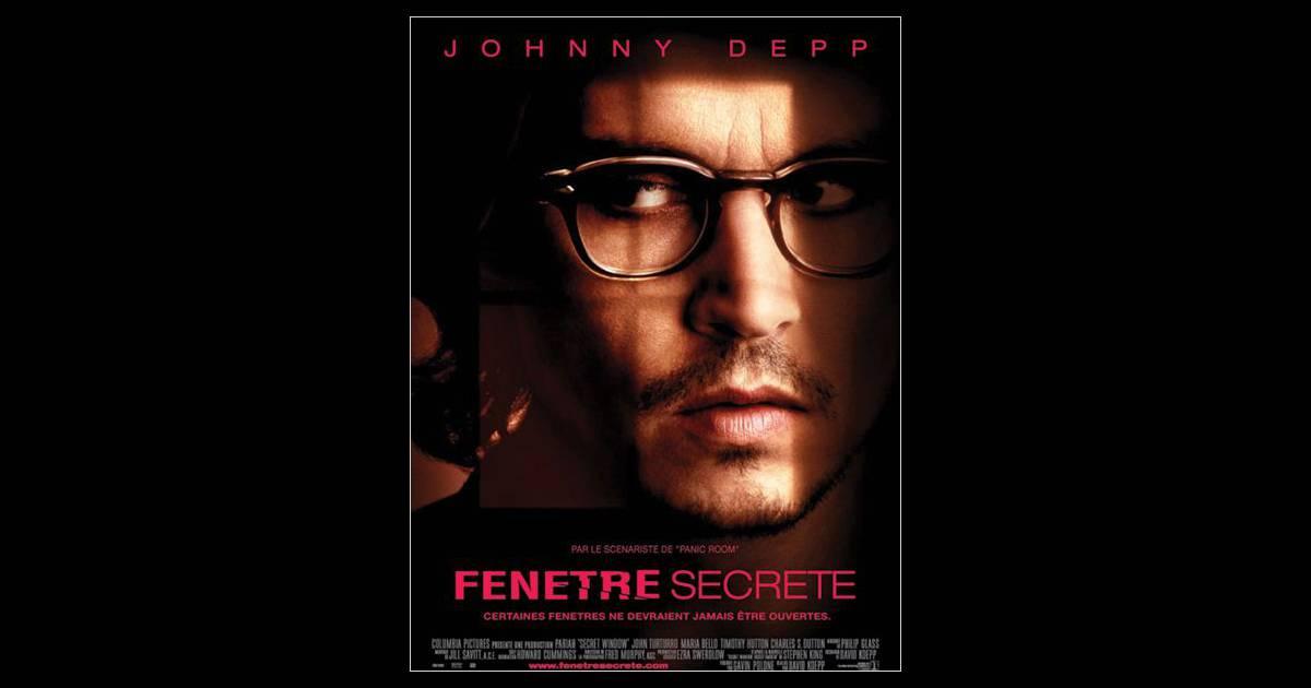 En 2004 johnny depp joue dans le film fen tre secr te for Fenetre secrete film