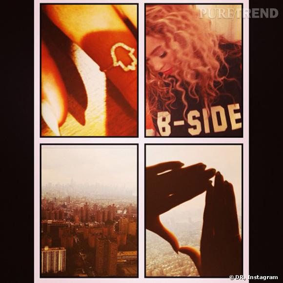 Beyoncé mêle gros plans et paysages pour un montage dépaysant.