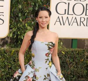 Lucy Liu vs Crystal Reed : la robe a fleurs ultra-bouffante Carolina Herrera
